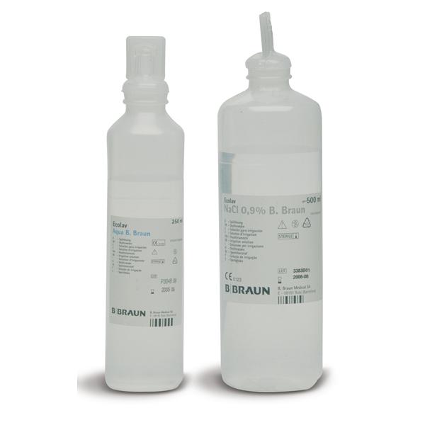 Soluzione salina sterile - cloruro di sodio - 500 ml - PVS