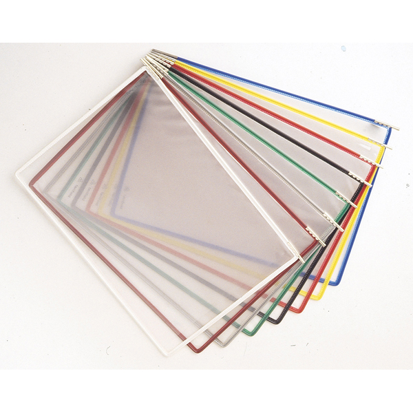 Tasche di ricambio per leggio T Technic - A4 - colori assortiti - Tarifold - set 10 pezzi