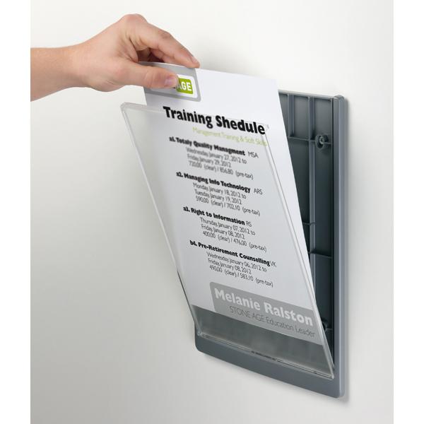 1PZ Targa per porte/pareti Click Sign - 21x29,7 cm (A4 ...