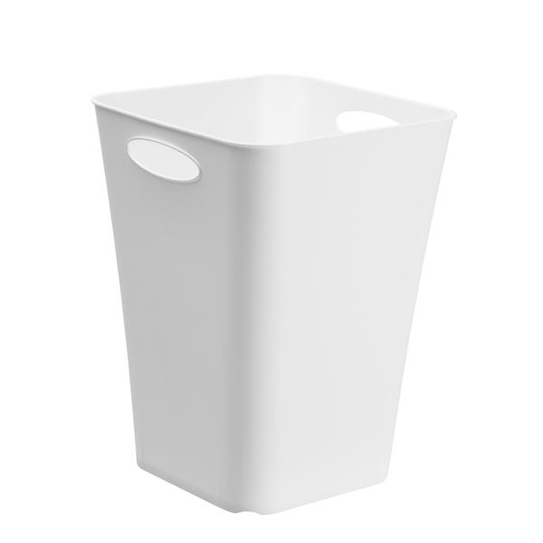 Portaombrelli Timeless - ppl - 29,5x29,5cm - altezza 39,5cm - bianco - Rotho