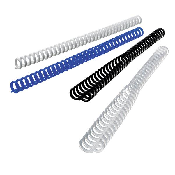Dorsi ClickBind per rilegatura - 8 mm - ghiaccio - Ibico - scatola 50 pezzi
