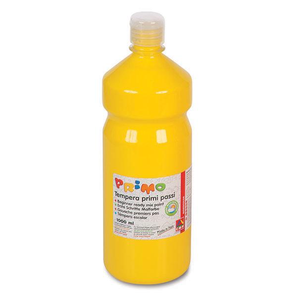 Tempera brillante da 1000ml - giallo - Primo