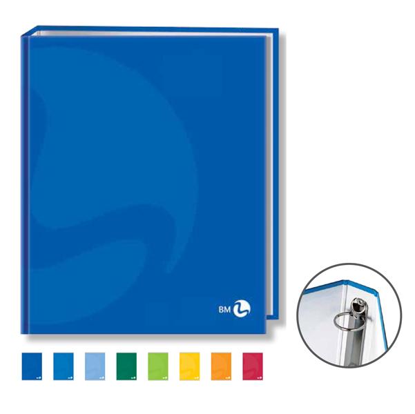 Raccoglitore Colors - 27x32cm - 4anelli - dorso 4cm - BM