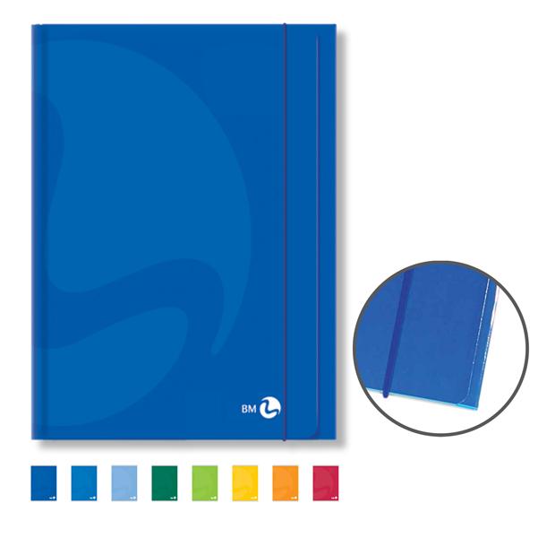 Cartellina Color - 255x350mm - 3lembi - con elastico - colori assortiti - BM