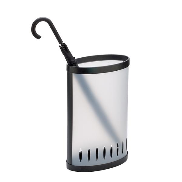 Portaombrelli - PPL - trasparente traslucido - 22,5x38x60 cm - Alba