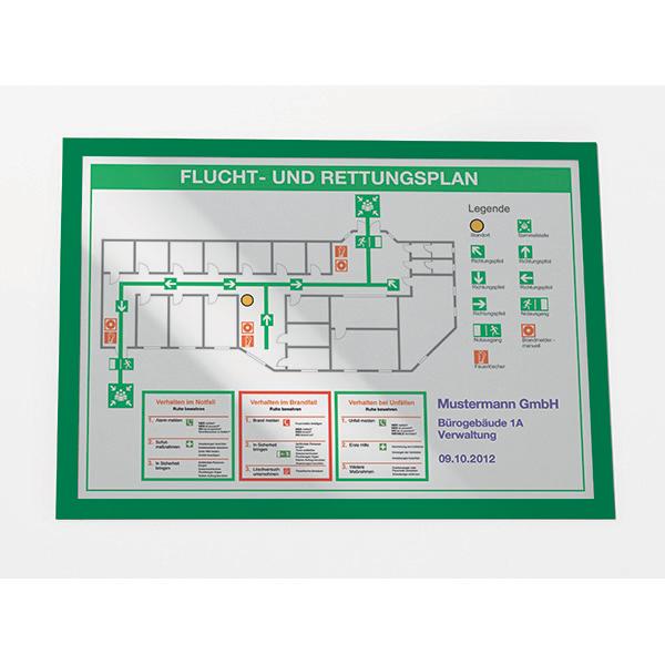 Cornice magnetica Duraframe® - A3 - 29,7x42 cm - verde - Durable