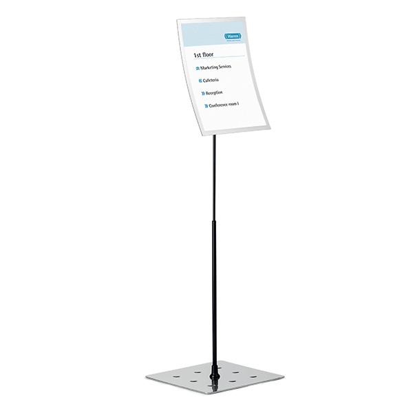 Espositore da pavimento Duraview® Stand - cornice magnetica - A3 - Durable