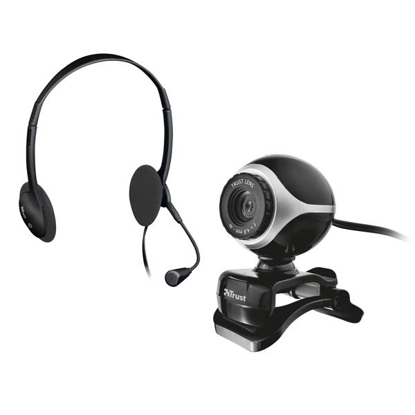 Exis Chatpack - webcam + cuffie - Trust