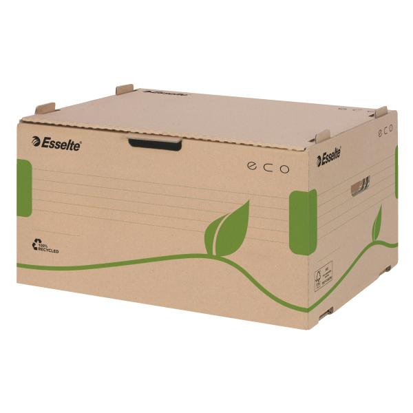 Scatola container EcoBox - 34x43,9x25,9 cm - apertura laterale - Esselte