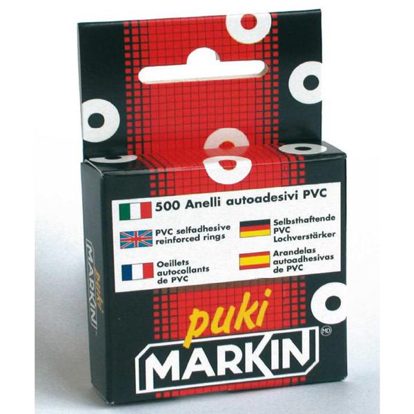 Salvabuchi adesivi - trasparente - Markin - conf. 500 pezzi
