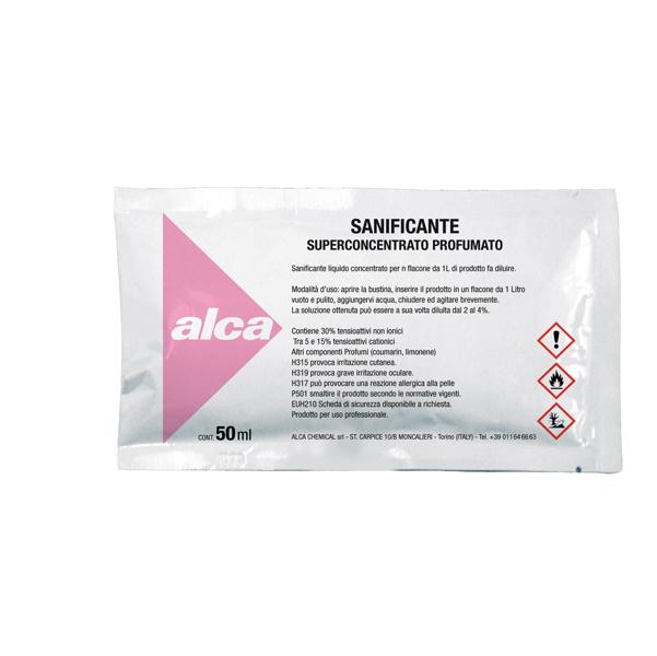 Sanificante Linea Monodose - superprofumato - Alca - bustina da 50 ml