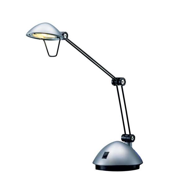 1PZ Lampada da tavolo Space - a led - 3W - silver - Hansa ...