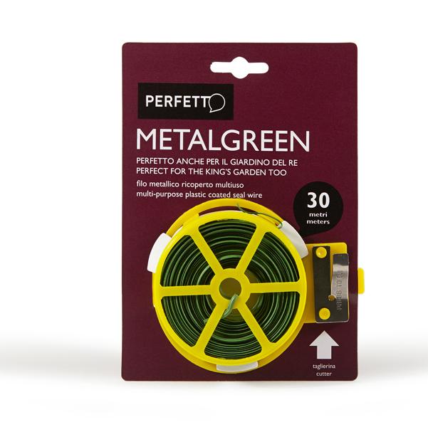 Filo multiuso Metalgreen - metallo ricoperto - 30 m - Perfetto