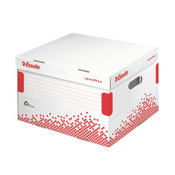 Scatola container Speedbox - Medium - 32,5x36,7cm - dorso 26,3 cm - Esselte