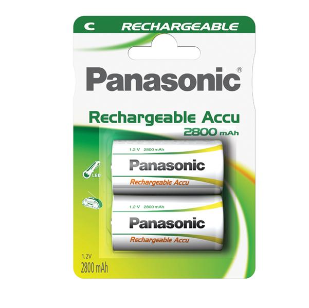 Mezzatorcia C Ready to use - ricaricabili - Panasonic - blister 2 pezzi