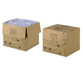 Sacchi espandibili per distruggidocumenti Auto+ 500X/M - 80 lt - carta riciclabile - Rexel - conf. 50 pezzi