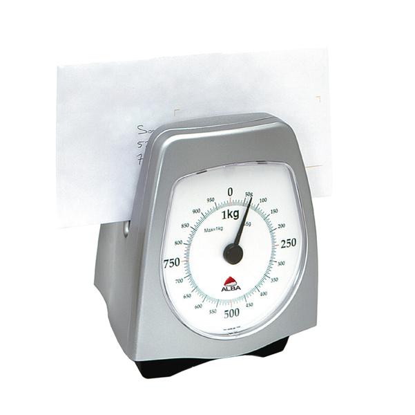 Bilancia pesalettere verticale obliqua - peso massimo 1 kg - Alba
