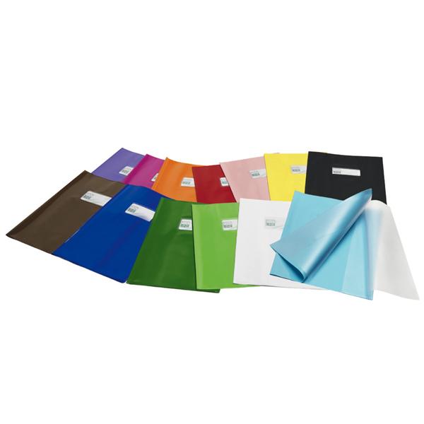 Coprimaxi in pvc lucido 21x30cm lilla c/alette e tasca portanome green line