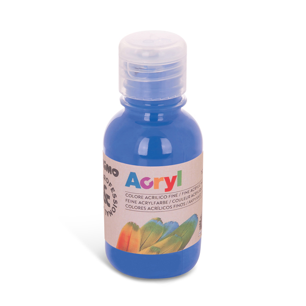 Colori Acryl - 125ml - blu cobalto - Primo