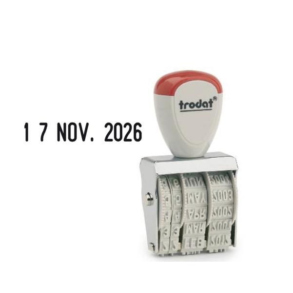 Timbro Datario 1020 - manuale - 5 mm - Trodat®