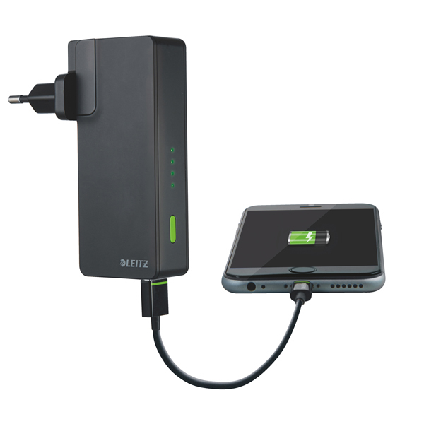Adattatore Mini Display Port VGA - nero - Leitz