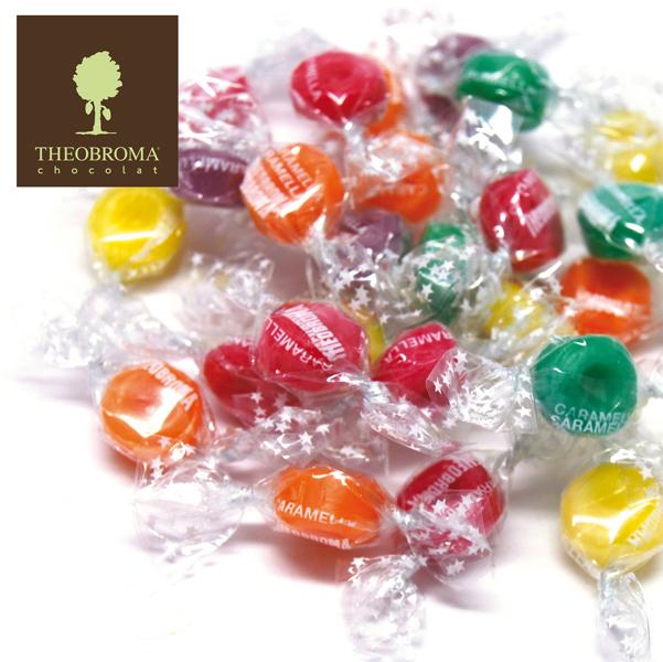 Caramelle Mini Diamantina - gusti alla frutta - Theobroma - busta da 2 kg