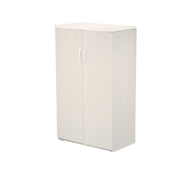 Mobile contenitore Agorà - medio - a giorno - 80x45cm -H136cm - bianco - Artexport