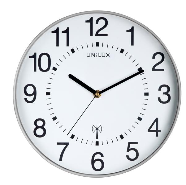 Orologio da parete Wave - diametro 30 cm - bianco - Unilux