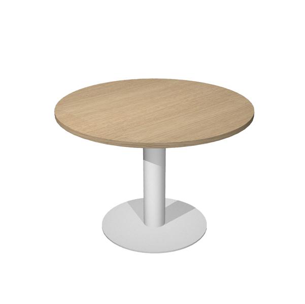 1PZ Tavolo riunione Agorà Direction - tondo - diametro 100 ...
