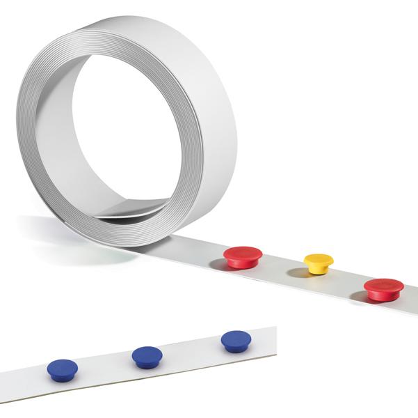 Nastro adesivo magnetico - larghezza 35 mm - lunghezza 5 mt - Durable