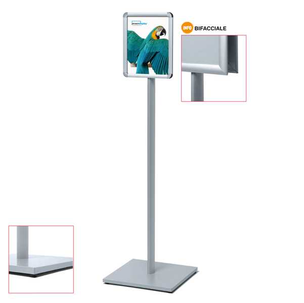 Display Catching Pole bifacciale - A4 - Studio T