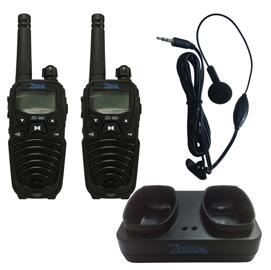 Coppia di ricetrasmettitori ZD 360 con vox - frequenza PMR 446 MHz - Zodiac Melchioni