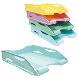 Portacorrispondenza keep colour Pastel - Azzurro - Arda
