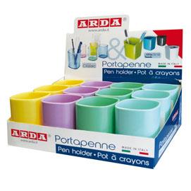 Portapenne Keep Colour Pastel - colori assortiti - Arda