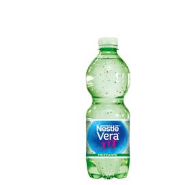Acqua frizzante bottiglia PET 500ml Vera