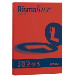 Carta Rismaluce Standard - A4 - 90 gr - scarlatto 61 - Favini - conf. 300 fogli