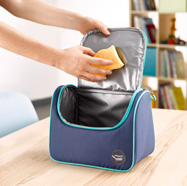 Lunch Bag - Picnick Easy - 20x25x18cm - azzurro/blu - Maped
