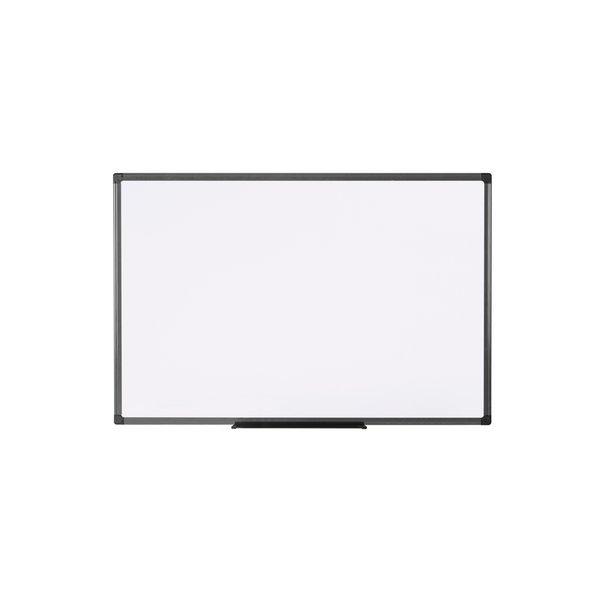 Lavagna bianca non magnetica con cornice in alluminio