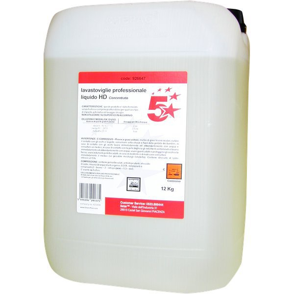 Detergenti per stoviglie 5 Star
