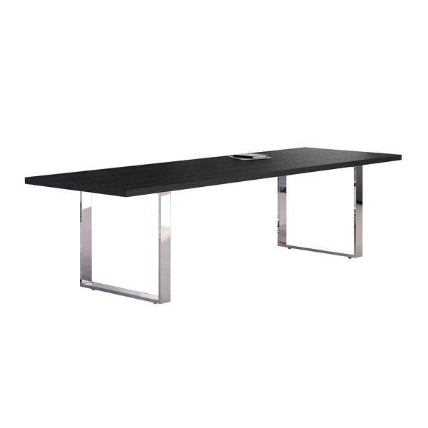 Tavolo riunioni Artexport Flora - nero venato - L220 P100 ...