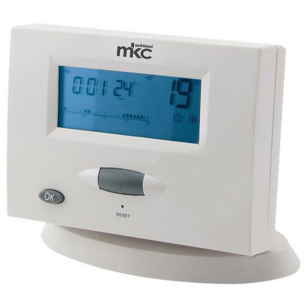 con Programmazione Settimanale Bianco MKC MK680 Cronotermostato