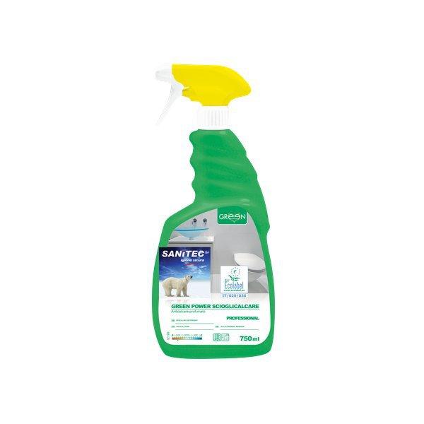 Detergente ecologico scioglicalcare per bagni