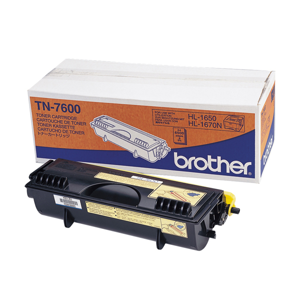 Brother - Toner - Nero - TN7600 - 6500 pag