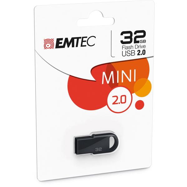 Emtec - Memoria Usb 2.0 - Nero - ECMMD32GD252 - 32GB