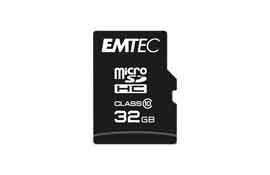 Emtec - Micro SDHC Class 10 Classic - ECMSDM32GHC10CG - 32GB