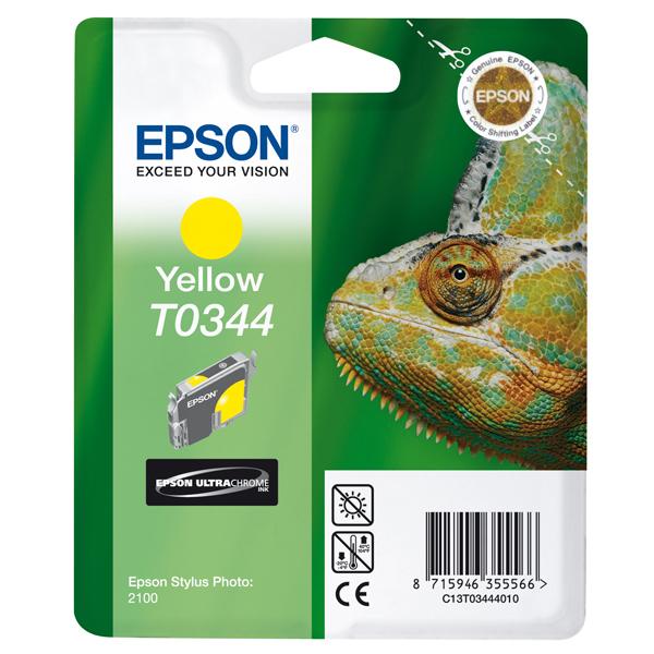 Epson - cartuccia - C13T03444010 - giallo, Stylus photo 2100, blister RS