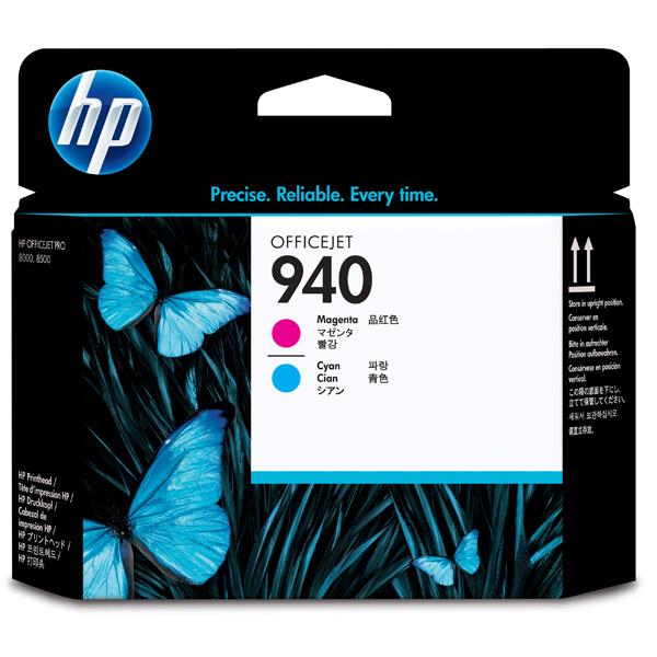 HP - testina di stampa - Officejet 940, magenta/ciano