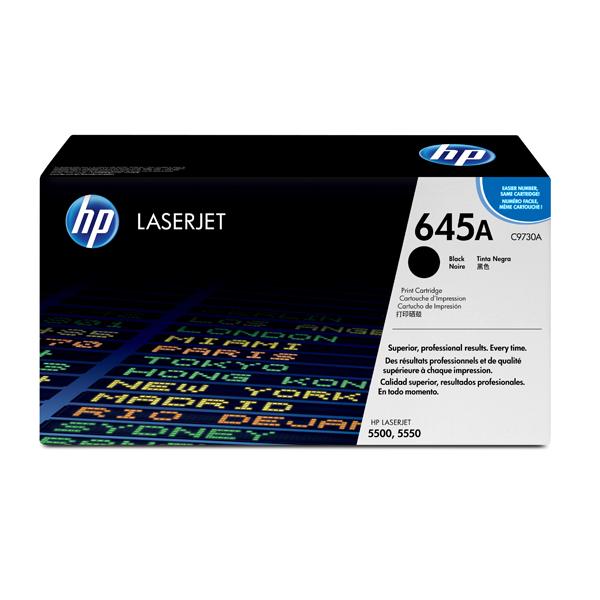 HP - cartuccia - C9730A - per stampanti color Laserjet, nero, 13 000 pagine