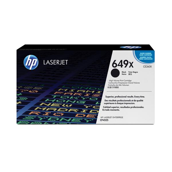 HP - cartuccia - CE260X - nero, Color Laserjet, alta capacità