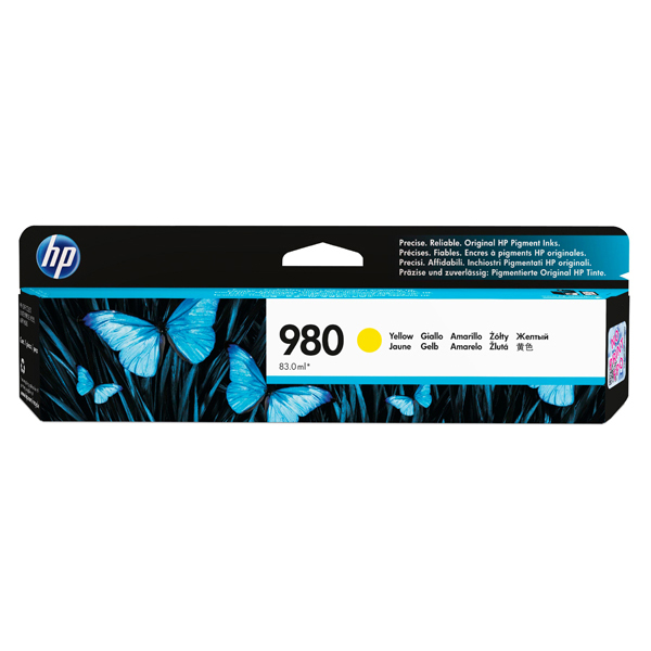 Hp - Cartuccia ink - 980 - Giallo - D8J09A - 6.600 pag